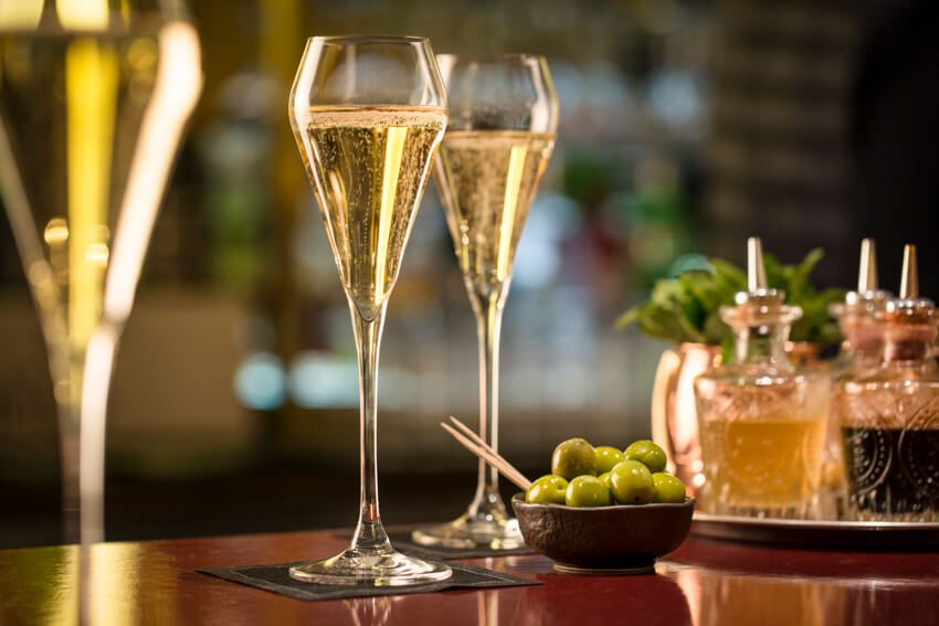 Champagne Bar Party Packages - St. Pancras