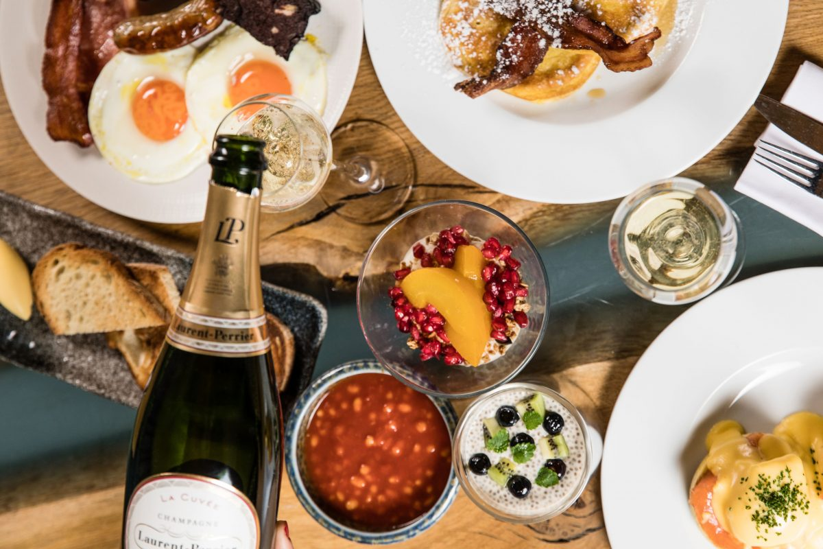 LAURENT PERRIER SUNDAY BRUNCH - St. Pancras