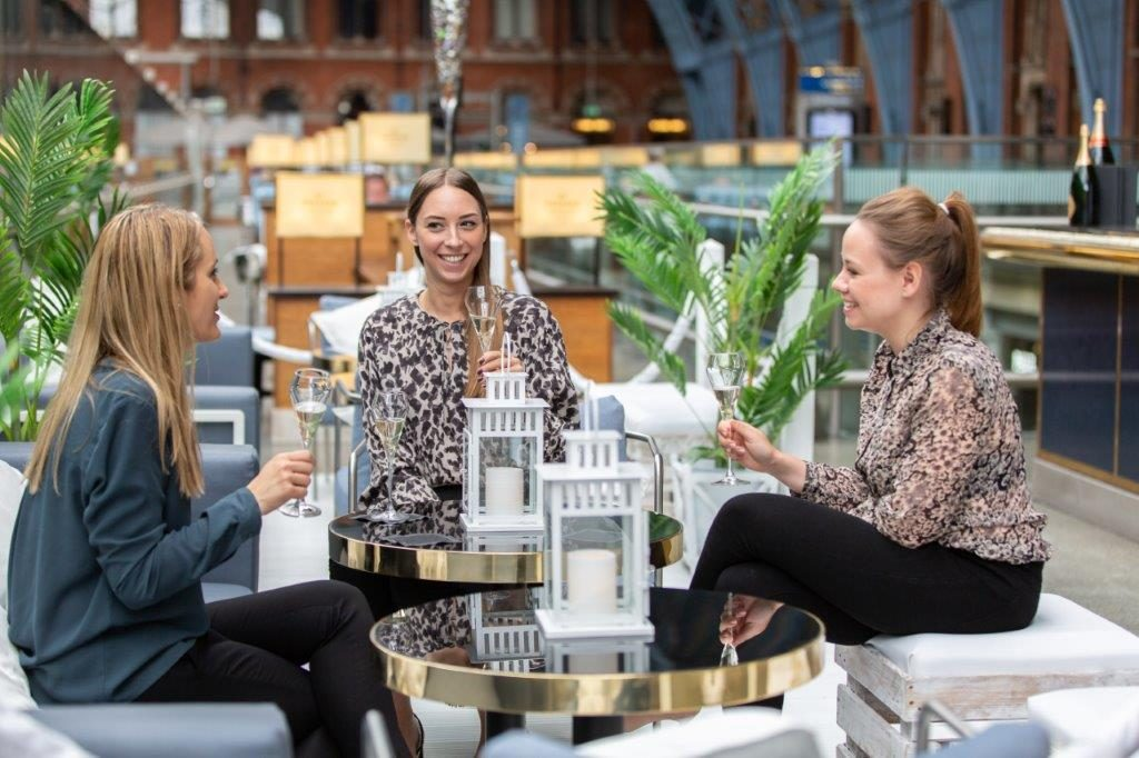 Celebrating the Ladies of Champagne this March - St. Pancras