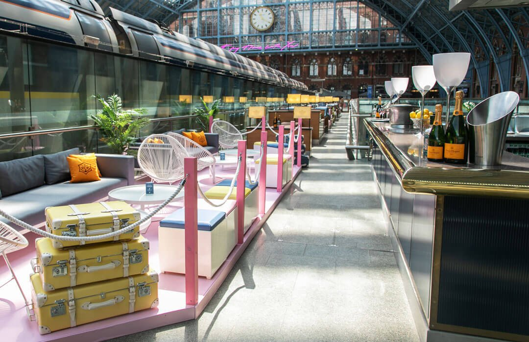 The Art of Travel Summer Pop Up - St. Pancras