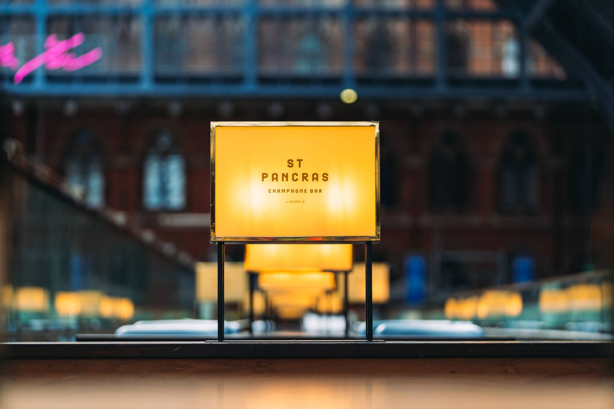 Celebrate World Champagne Day - St. Pancras