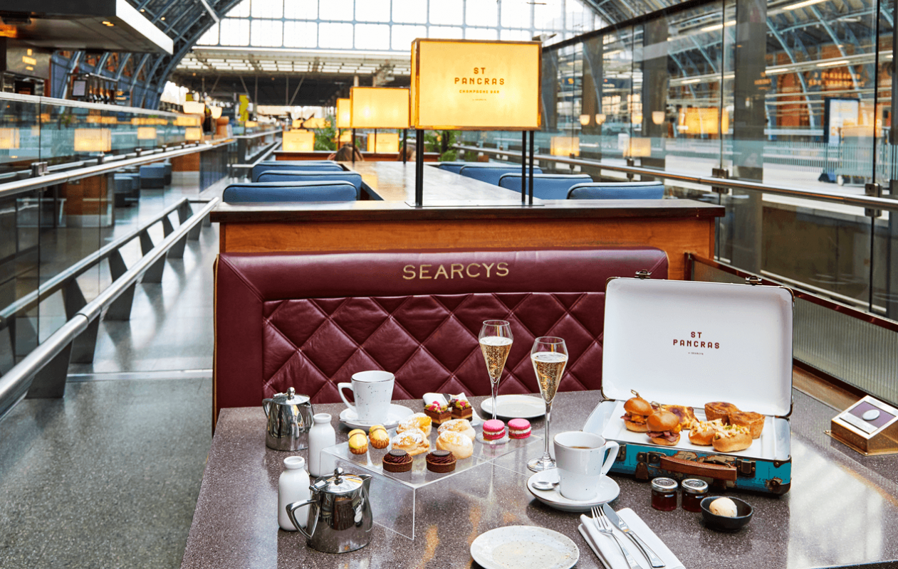 Staycation Afternoon Tea - St. Pancras