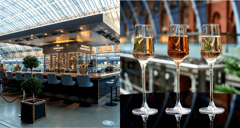 Champagne Bar Menu - St. Pancras